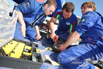 M-Sport technicians work