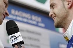LMP2 pole winner Giacomo Piccini