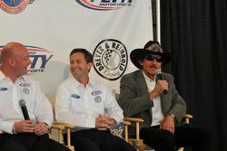 Todd Whitworth, John Andretti, and Richard Petty