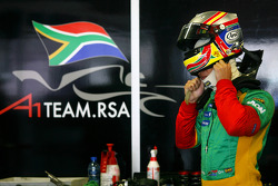 Adrian Zaugg, driver of A1 Team South Africa