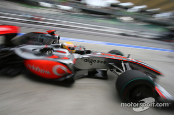 Lewis Hamilton, McLaren-Mercedes