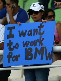 BMW fan