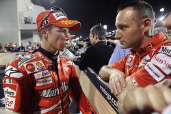 Race winner Casey Stoner, Ducati Marlboro Team