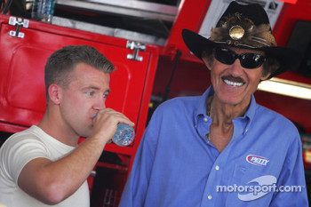 A.J. Allmendinger, Richard Petty Motorsports Dodge with Richard Petty