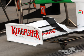 Front wing of Adrian Sutil, Force India F1 Team