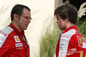 Stefano Domenicali, Scuderia Ferrari, Sporting Director, Rob Smedly, Scuderia Ferrari, Track Engineer of Felipe Massa