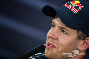 FIA press conference: Sebastian Vettel, Red Bull Racing