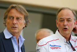 Luca di Montezemolo, Scuderia Ferrari, FIAT Chairman and President of Ferrari and John Howett, Toyota Racing, President TMG