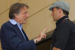 Luca di Montezemolo, Scuderia Ferrari, FIAT Chairman and President of Ferrari and Jean Alesi
