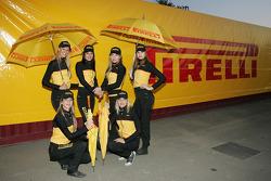 The Pirelli girls