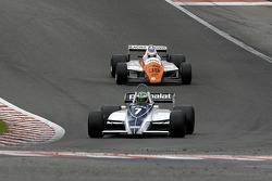 #7 Joaquin Folch (E) Brabham BT49C-10, Kumschick Racing (1982); #39 Andy Meyrick (GB) Arrows A5-1, AMR Racing (1982)