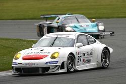 #97 Brixia Racing Porsche 997 GT3 RSR: Luigi Lucchini, Martin Ragginger