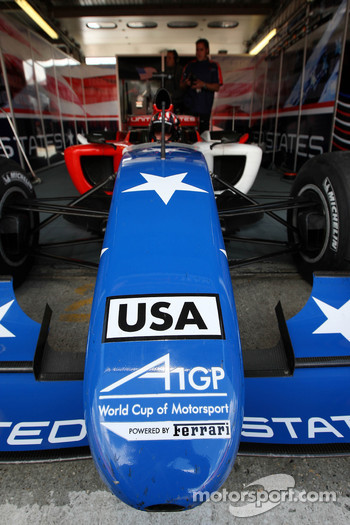 J. R. Hildebrand, driver of A1 Team USA
