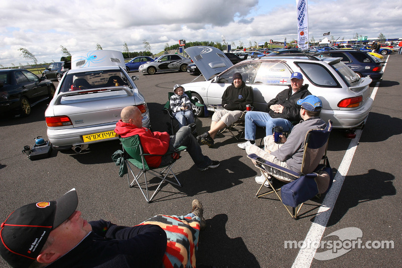 Fans at Silverstone
