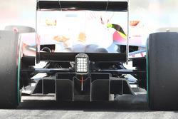 Toyota rear diffuser