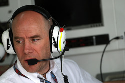 Jock Clear, BrawnGP, Senior Race Engineer to Rubens Barrichello