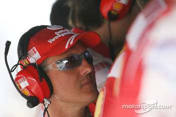 Michael Schumacher, Test Driver and advisor, Scuderia Ferrari
