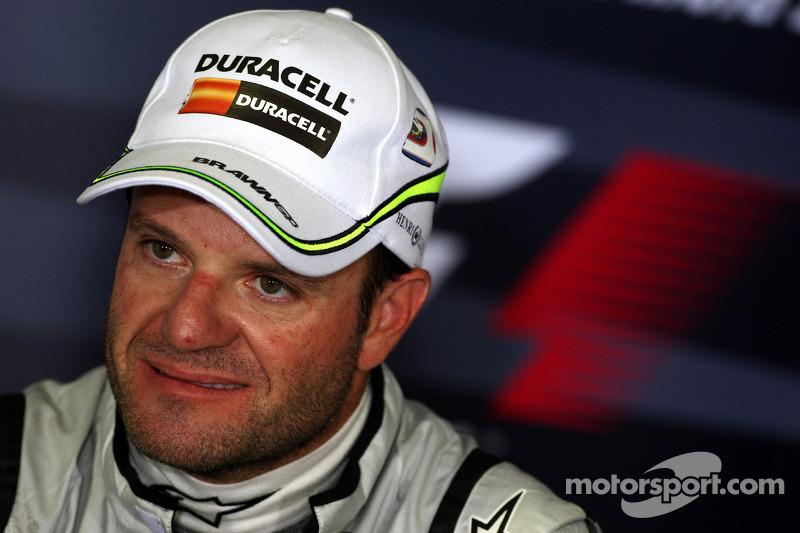 FIA press conference: Rubens Barrichello, Brawn GP