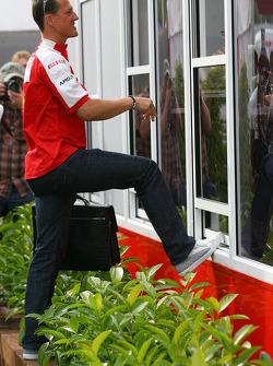 Michael Schumacher, Test Driver, Scuderia Ferra