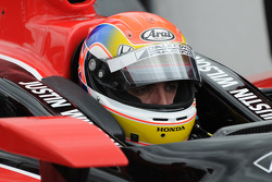 Justin Wilson, Dale Coyne Racing in deep focus