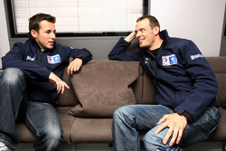 Christian Klien and Alexander Wurz