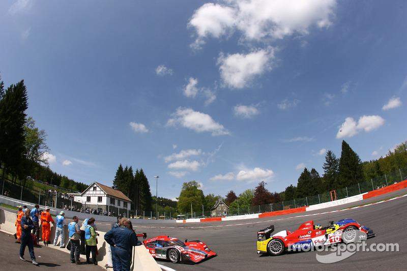 #10 Team Oreca Matmut - AIM Courage-Oreca LC70 - AIM: Stéphane Ortelli, Bruno Senna