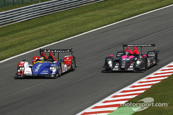 #10 Team Oreca Matmut - AIM Courage-Oreca LC70 - AIM: Stphane Ortelli, Bruno Senna; #35 Oak Racing Pescarolo - Mazda: Matthieu Lahaye, Karim Ajlani