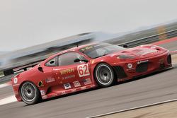 #62 Risi Competizione Ferrari F430 GT: Jaime Melo, Pierre Kaffer