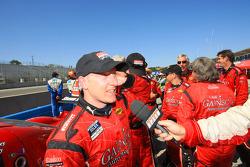 Jon Fogarty celebrates with crew