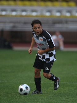 Star Team vs Nazionale Piloti, Charity Football Match, Monaco, Stade Louis II: Felipe Massa, Scuderia Ferrari