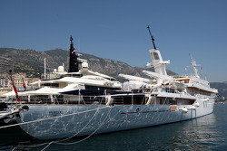Boats in Monaco harbour
