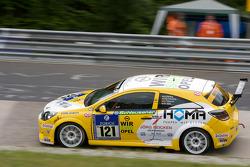 #121 Kissling Motorsport Opel Astra GTC: Marco Wolf, Otto Fritzsche, Jürgen Fritzsche