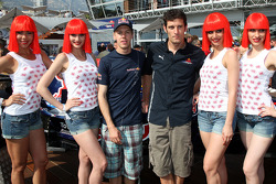 Crazy horse girls Sebastian Vettel, Red Bull Racing, Mark Webber, Red Bull Racing
