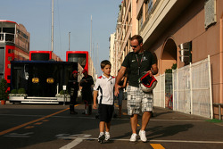 Rubens Barrichello, Brawn GP and his son