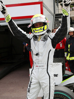 Jenson Button, Brawn GP on pole