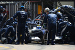 Pitstop of Nico Rosberg, Williams F1 Team