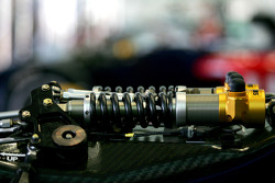 Ohlins suspension detail