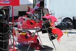 Bodywork for Graham Rahal, Newman/Haas/Lanigan Racing