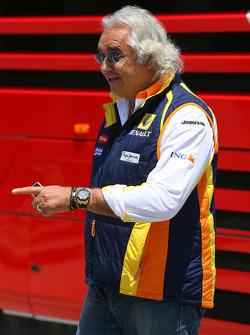 Flavio Briatore, Renault F1 Team, Team Chief, Managing Director