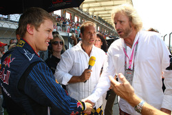 Sebastian Vettel, Red Bull Racing, Kai Ebel and Thomas Gottschalk