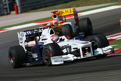 Robert Kubica, BMW Sauber F1 Team ans Fernando Alonso, Renault F1 Team