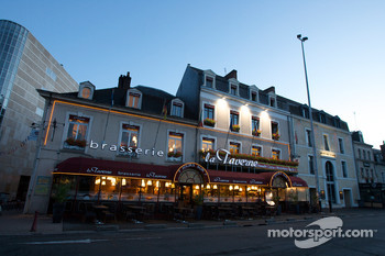 A famous brasserie in downtown Le Mans