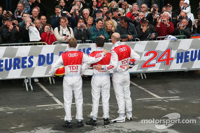 #3 Audi Sport North America Audi R15 TDI: Alexandre Prémat, Romain Dumas, Timo Bernhard