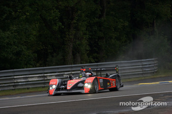 #15 Team Kolles Audi R10 TDI: Christijan Albers, Christian Bakkerud, Giorgio Mondini