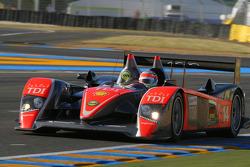 #14 Team Kolles Audi R10 TDI: Narain Karthikeyan, Charles Zwolsman