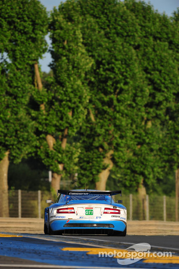 #66 Jetalliance Racing Aston Martin DBR9: Alex Müller, Lukas Lichtner-Hoyer, Thomas Gruber