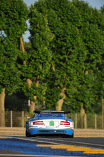 #66 Jetalliance Racing Aston Martin DBR9: Alex Mller, Lukas Lichtner-Hoyer, Thomas Gruber