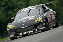 #70 SpeedSource Mazda RX-8: Nick Ham, Sylvain Tremblay