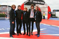 Rock band Kasabian