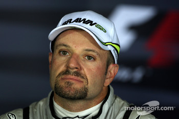 Press conference: third place Rubens Barrichello, Brawn GP